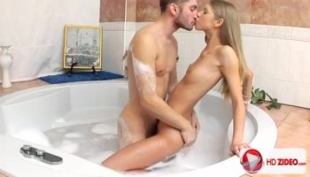 Babe is groaning as dude penetrates her wazoo hole