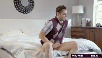 Teen Melena cumming in her stockings